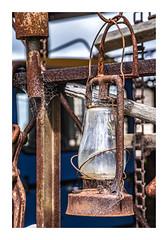 Light The Way (red stilletto) Tags: oakdenewinery oceangrove wallington lantern light rust rusty rusted cobwebs famousflickrfive