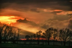 and the heavens opened... (Alvin Harp) Tags: greatsunset sunset stormclouds lightbeams farm trees sonyilce7rm2 fe24240mm april 2016 dramaticsky heavens sunbeams hannibal missouri dramaticclouds alvinharp