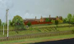 Aylesbury LNWR - an EM gauge 4mm scale layout depicting the LNWR station in 1911 (Kentishman) Tags: emgauge railex2016 modelrailway exhibition panasonic lumix p1050155 aylesbury lnwr stokemandevillestadium buckinghamshire 4mmscale dmczx1