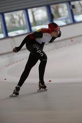 A37W0468 (rieshug 1) Tags: speedskating schaatsen eisschnelllauf skating nkjunioren knsb nkjuniorenallroundafstanden afstanden allround 50010001500massstart demeent alkmaar sportcomplexdemeent juniorenb ladies dames 3000m