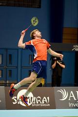 NBLmatch-5100-0314 (University of Derby) Tags: 5100 badminton nbl sportscentre universityofderby match