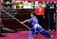 WBY2880-16 G1X2  Kung Fu, who is afraid (wbyoungphotos) Tags: kungfu youngsters boys girls buddha temple afraid