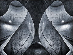 UK - Oxford - University of Oxford - Blavatnik School - Spiral 06_mono flipped v2_DSC2697 (Darrell Godliman) Tags: ukoxforduniversityofoxfordblavatnikschoolspiral06monoflippedv2dsc2697 flipped mirrored spiralstair spiral stair concrete herzogdemeuron herzoganddemeuron blavatnikschoolofgovernment blavatnik schoolofgovernment radcliffeobservatoryquarter roq universityofoxford oxforduniversity oxford oxfordshire oxon contemporaryarchitecture modernarchitecture architecture building college design dgodliman darrellgodliman wwwdgphotoscouk dgphotos allrightsreserved copyright travel tourism europe eu britishisles unitedkingdom uk greatbritain gb britain england omot flickrelite instantfave nikond7200 nikon d7200 travelphotographer travelphotography architecturalphotography bw monochrome mono blackandwhite