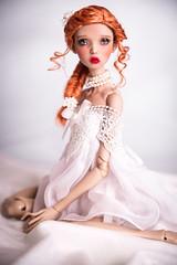 READY WIG! Ginger Vintage (Amadiz) Tags: wig wigs amadiz amadizstudio abjd bjd doll dolls fashion hairstyle popovy popovydolls littleowl