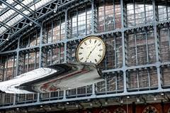 Thought of Train of Thought (ian_fromblighty) Tags: thoughtoftrainofthought ronarad london uk england stpancras aluminium hdr station
