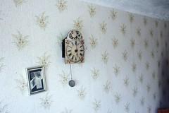 Aspasia (lligaa) Tags: museum memorial aspasia latvian poet famous drama writer author latvia house jelgava dauksas room flowers vase wallpaper clock frame