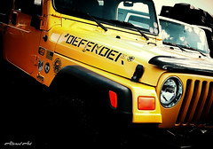 "yellow jeep ""DEFENDER"" Indian River Inlet, DE (delmarvausa) Tags: jeep 4x4 offroad showandshine jeepclub jeeps offroading indianriverinlet delawareseashore coastaldelmarva southerndelaware delawarestatepark bbqcompetition showshine jeepclubs lowerdelaware offroadingwithlukeandeddie lukeandeddies yellow yellowjeep defender"