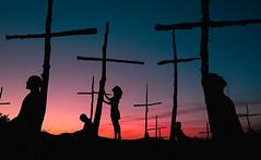 Historial de bsqueda (Ibai Acevedo) Tags: x places silueta pasado bosque quemado cross cruz sunset atardecer color tree arbol extorial exkyline bosc de les creus boscdelescreus
