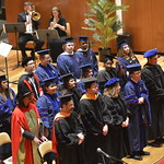 Faculty and doctoral degree graduates