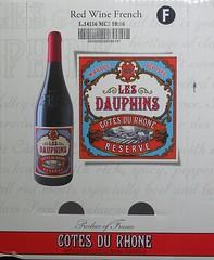 BOX (streamer020nl) Tags: box doos wine vin wein wijn france dauphins red rhone 6 bottles flessen