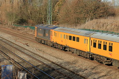 73964 Jeanette (aledy66) Tags: 300q 1113 cricklewood no2 g l derby network rail canon 70d diesel train loco locomotive yellow banana gbrf 73964