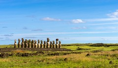 Ahu Tongariki (Never House) Tags: rapanui ahu tongariki raulwong sony alpha travel trip 2470 landscape easter island chile