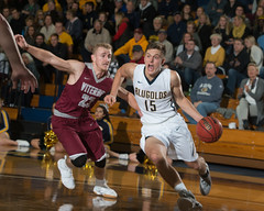 12-6-2016 | MBKB vs Viterbo (UWECblugolds) Tags: wiac basketball uwec blugolds uweauclaire viterbo