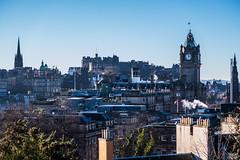 Edinburgh (@bill_11) Tags: scotland edinburgh places castle cityscape clock balmoral northbritish autumn