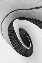 The end is in sight  *Explore* (sarah_presh) Tags: newportstreetgallery london staircase stairs spiral gallery newport street nikond750 monochrome