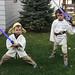 Yoda and Luke - in the backyard-8