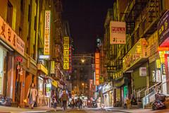 Chinatown NYC - Pell Street (BrianJacksonNYC) Tags: project15 night chinatown pellstreet blackandwhiteportrait fav nyip street