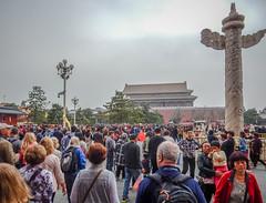Tiananmen Square-0955 (kasiahalka (Kasia Halka)) Tags: 109acres 2016 beijing china citysquare gateofheavenlypeace greathallofthepeople mausoleumofmaozedong monumenttothepeoplesheroes nationalmuseumofchina tiananmensquare