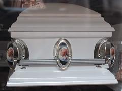 Coffin with St. John Paul II portraits, San Miguel de Allende, Mexico (Paul McClure DC) Tags: sanmigueldeallende mexico bajo guanajuato nov2016