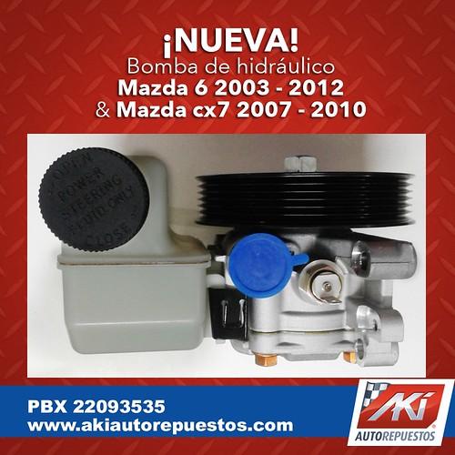 "Bomba hidraulico mazda 6 <a style=""margin-left:10px; font-size:0.8em;"" href=""http://www.flickr.com/photos/141023675@N04/31028478705/"" target=""_blank"">@flickr</a>"