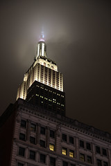 ESB in Gotham City (n@dnoel) Tags: empire state building esb new york night haze light