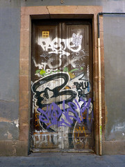 Graffiti in Barcelona 2013 (kami68k -all over-) Tags: barcelona 2015 graffiti illegal bombing tag tags tagging handstyle handstyles idiot paste