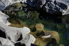 Confusion (walkerross42) Tags: abstract rocks rogueriver gorge oregon water reflection river