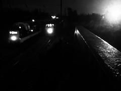 Night Fever (sjpowermac) Tags: d9002 deltic 47854 light reflection night holgate lamp handrails bridge alone watching listening fever retro blister paint class55 class47 ecs winter december 5z45 55002