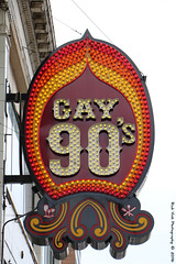 Gay 90's (Rick & Bart) Tags: minneapolis minnesota twincities city urban sign neon gay90s nightclub bar rickvink rickbart canon eos70d