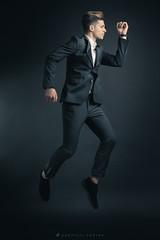 Lox 2 (gabri.R) Tags: portrait ritratto fashion model malemodel male elegante completouomo dress elegant elegantdress man uomo ragazzo studio studioportrait strobist witstro ad360 fashionmalemodel salto jump