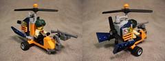 Osprey - Gyrocopter (lski Hutas) Tags: lego tweepunk gyro copter