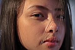 Perfect Imperfections (iwidesiderio) Tags: filipina pinoy pinay beauty beautiful perfect imperfect face close closeup pores portrait asian girl pretty eyes eye iris shadow shade filipino philippines pilipinas skin flaw light