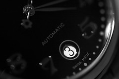 #3 Advent Calendar 2016 (steven.kemp) Tags: time mont blanc watch black white monochrome close up bokeh depth field dof advent calendar project day 3 montblanc
