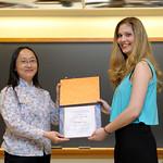 Professor Frances Wang, M. Sima Finy Quantitative Division: Jeffrey Tanaka Award