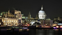 _DSC5057 (slackest2) Tags: london thames river night lights water sky st pauls catherderal