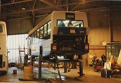 Finishing Touches (ekawrecker) Tags: bus plant wm lx1668 1301 new brand
