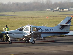 G-BDAK Rockwell Commander 112 (Aircaft @ Gloucestershire Airport By James) Tags: gloucestershire airport gbdak rockwell commander 112 egbj james lloyds