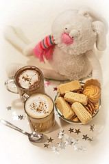^_^ (Suliveyn) Tags: christmas coffe cookie