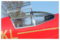 G-HEKL Percival Mew Gull Replica (SPRedSteve) Tags: ghekl percival mewgull 1930s airplane aircrft vintage classic fenland shobdon