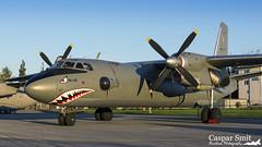 Ukrainian An-26 (Caspar Smit) Tags: antonov an26 26 curl ukraine sliac siaf aircraft airshow airforce airplane 44 nikon d7100