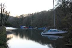 IMG_1313 (Skytint) Tags: england cornwall moorings boats hightide percuil