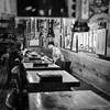 Breakfast, Kabukicho (Paul Perton) Tags: fuji fuji23mmf14 japan shinjuku tokyo xpro2 blackandwhite bw candid morning square street streetphotography urban