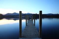 Derwent water (Rexnna) Tags: outdoor pier sunset derwentwater