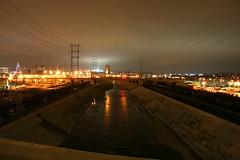 L.A. River 06 (BOBROSS75) Tags: california longexposure streets buildings light