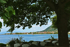 sea view (Katrinitsa) Tags: sea tree beach landscape cityscape view greece kamenavourla kamena vourla fthiotida