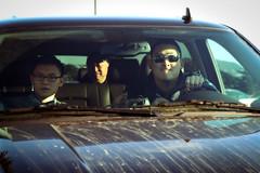 Road trip (PiscesDreamer) Tags: sanfrancisco california goldengatepark travel family window car ride roadtrip vehicle driver windshield grime suv roaddirt chevroletsuburban