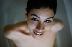 (thisisforlovers) Tags: wet water girl look swimming indonesia drag drops agua chica f14 14 sigma peaceful gotas nadar shorthair bathtub mirada videoclip indonesian aura bañera phtography mojado 30mm ladym bañarse indonesa andreadorantes