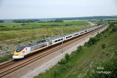 2013. Eurostar NoL 3305/ 3306 te station Calais- Fréthun