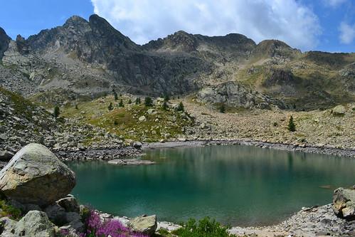 Sant'Anna di Vinadio. Lago.