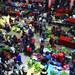Il grande mercato della frutta e verdura di Chichicastenango